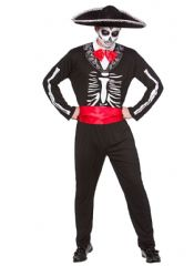 Day of the Dead Mariachi Costume (HM5540)